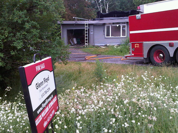 Ring Electric Fire Damages Vacant Stittsville Home