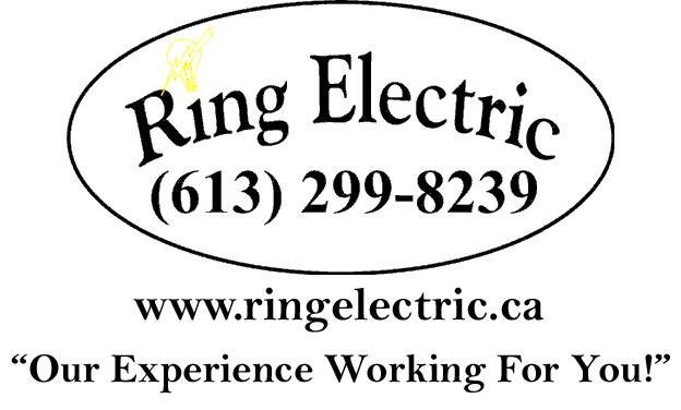 Ring Electric logo with slogan