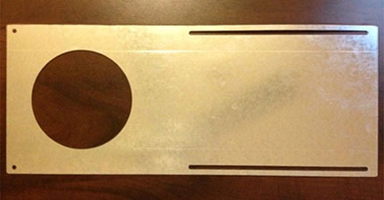 LED Mounting Plate